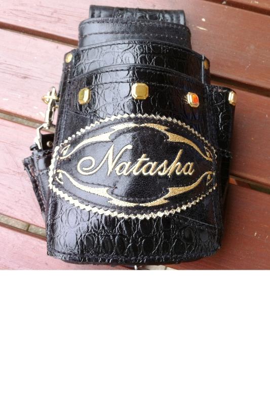 Privatkunden - Stickerei - Tasche Natasha (schwarz)